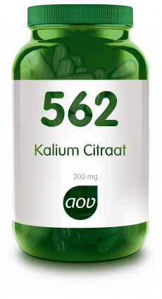 AOV KALIUM CITRAAT 200MG   562 100CP