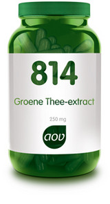 AOV GROENE THEE EXTRACT    814 60CP