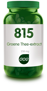 AOV GROENE THEE EXTRACT    815 180CP