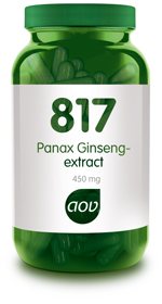 AOV PANAX GINSENG EXTRACT  817 60CP