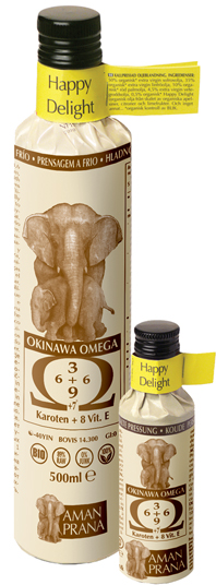 AMAN PRANA OMEGA HAPPY DEL bio 500ML