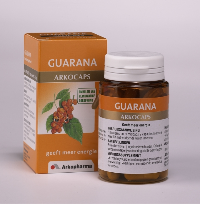 ARKOCAPS GUARANA CAPSULES