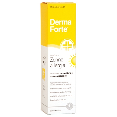 DERMAFORTE ZONNEALLERGIE SPR 200ML