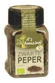 ITS AMAZING PEPERKORRELS ZWART 43GR