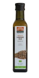 MATTISSON LIJNZAADOLIE     bio 250ML