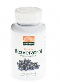 MATTISSON RESVERATROL 350MG 60CP