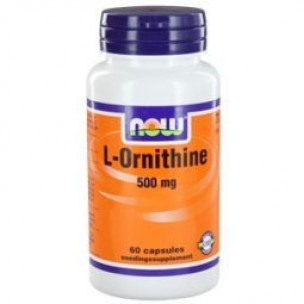 NOW L-ORNITHINE 500mg 60ST