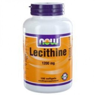 NOW LECITHINE 1200MG 100ST