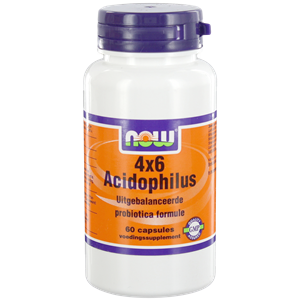 NOW 4X6 ACIDOPHILUS  60 S