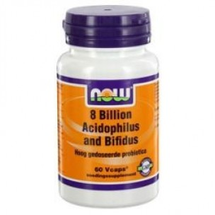 NOW 8 BILLION ACIDOPH BIFID 60ST