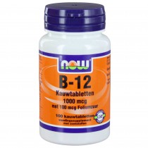NOW B-12 1000MCG KAUWTAB 100ST