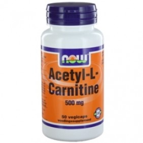 NOW ACETYL L-CARNITINE 500mg 50ST