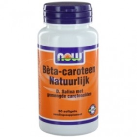 NOW BETA CAROTEEN NAT 90ST