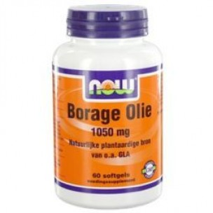 NOW BORAGE OLIE 100MG 60ST