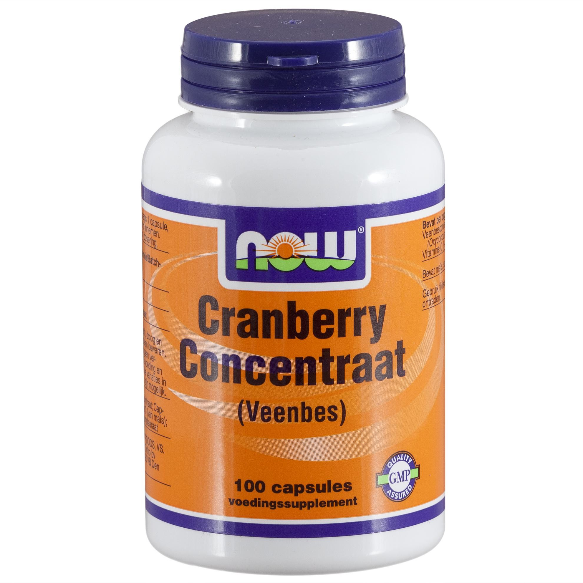 NOW CRANBERRY CONCENTRAAT 100ST