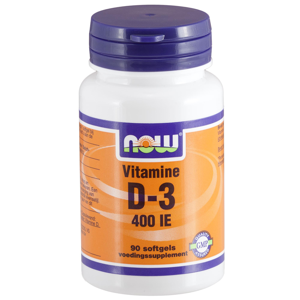 NOW D3 400 IE SOFTGELS 90ST