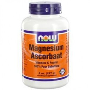 NOW MAGNESIUM ASCORBAAT POEDER 227GR