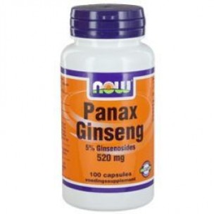 NOW PANAX GINSENG 500mg 100ST