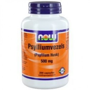 NOW PSYLLIUMVEZELS 500MG 200CP