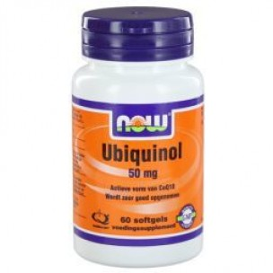 NOW UBIQUINOL 50MG 60ST
