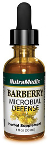 NUTRAMEDIX BARBERRY DRUPPELS 30ML