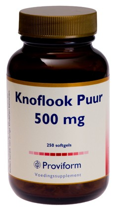 PROVIFORM KNOFLOOK PUUR 500MG 250SG