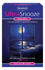 ULTRASNOOZE MELATONINE SLAAP 60TAB
