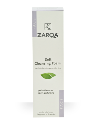 ZARQA SOFT CLEANSING FOAM 150ML