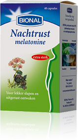 BIONAL NACHTRUST MELATONINE 40CAP