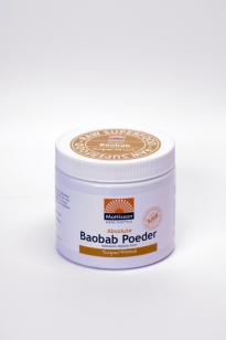 MATTISSON BAOBAB FRUIT POEDER 125GR