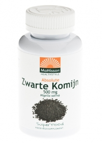 MATTISSON ZWARTE KOMIJN 500MG 90CP