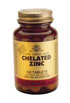 SOLGAR CHELATED ZINC  250 TABLETTEN