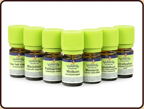 VOLATILE CHAKRA SET 5ML      * 7AS