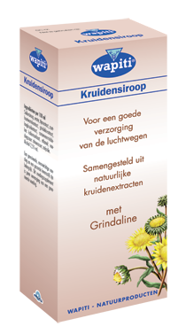 WAPITI BRONCHIAL KRUIDENSIROOP 150ML