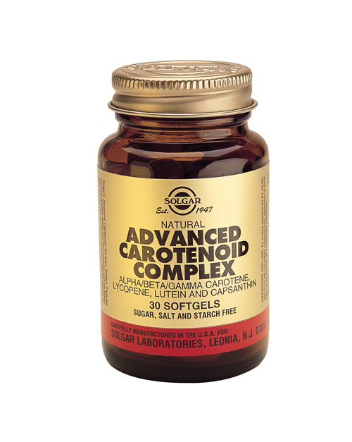 SOLGAR ADVANCED CAROTENOID COMPLEX  60 SOFTGELS