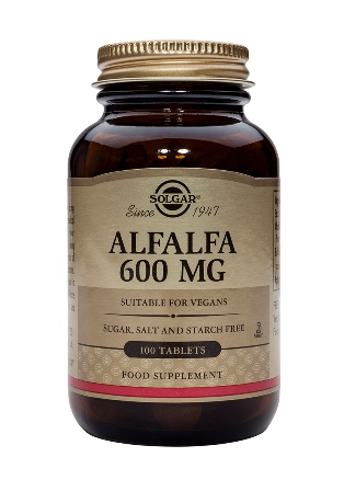 SOLGAR ALFALFA 600 MG  100 TABLETTEN