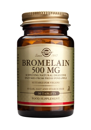 SOLGAR BROMELAIN 500 MG  30 TABLETTEN