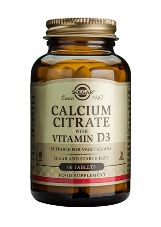 SOLGAR CALCIUM CITRATE WITH VITAMIN D3  240 TABLETTEN
