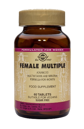 SOLGAR FEMALE MULTIPLE  120 TABLETTEN