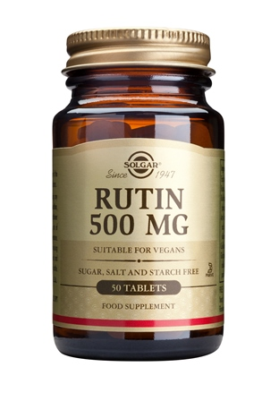 SOLGAR RUTIN 500 MG  100 TABLETTEN