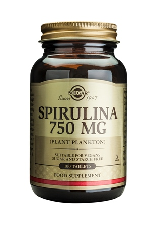 SOLGAR SPIRULINA 750 MG  100 TABLETTEN