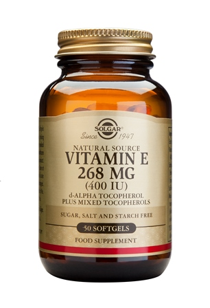 SOLGAR VITAMIN E 268 MG/400 IU COMPLEX  50 SOFTGELS