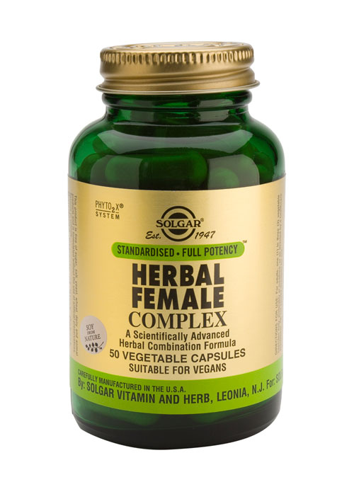 SOLGAR HERBAL FEMALE COMPLEX  50 PLANTAARDIGE CAPSULES